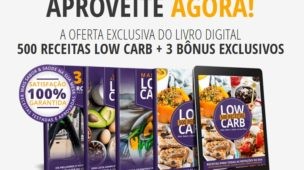 500 receitas low carb
